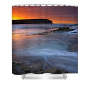 Pennington Dawn Shower Curtain