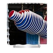Pepsi Cola Bottle Shower Curtain