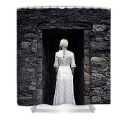 Period Lady Shower Curtain
