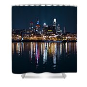 Philadelphia Reflections Shower Curtain