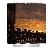 Pier Myrtle Beach Sc Shower Curtain