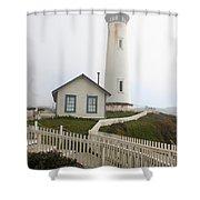 Pigeon Point Light Shower Curtain