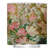 Pinks Shower Curtain