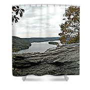 Pinnacle Overlook  Shower Curtain