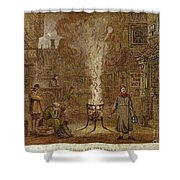 Plague Of London, 1665 Shower Curtain