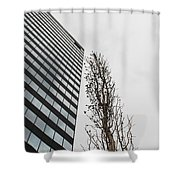 Plastic Trees Shower Curtain