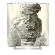 Plato  Shower Curtain