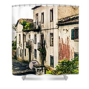 Ponta Delgada Azores Shower Curtain
