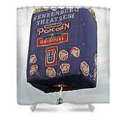 Popped Corn Shower Curtain