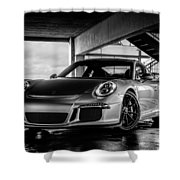 Porsche 911 Gt3 Shower Curtain