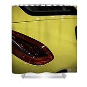 Porsche Cayman S Shower Curtain