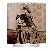 Portrait Of Jane Morris Shower Curtain