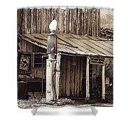 Post Office-gas Station Ghost Town Wagoner Arizona 1968 Shower Curtain