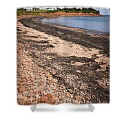 Prince Edward Island Coastline Shower Curtain