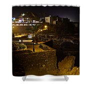Puerto De La Cruz By Night Shower Curtain