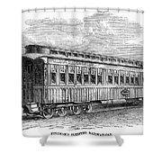 Pullman Car, 1869 Shower Curtain