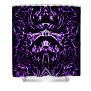 Purple Series 1 Shower Curtain
