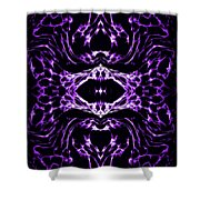 Purple Series 3 Shower Curtain by J D Owen