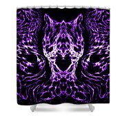 Purple Series 4 Shower Curtain
