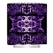 Purple Series 5 Shower Curtain