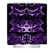 Purple Series 6 Shower Curtain