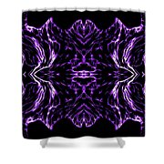 Purple Series 7 Shower Curtain