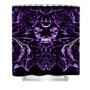 Purple Series 8 Shower Curtain