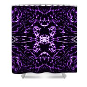 Purple Series 9 Shower Curtain