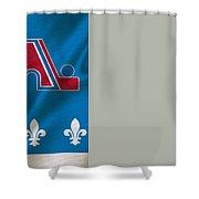 Quebec Nordiques Shower Curtain