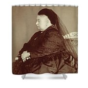 Queen Victoria Of England (1819-1901) Shower Curtain