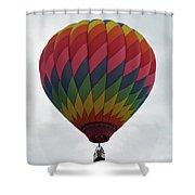 Rainbow Balloon Shower Curtain