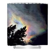 Rainbow Cloud Shower Curtain
