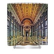 Reception Hall Of The Capitol - Havana Cuba Shower Curtain