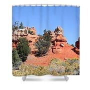 Red Canyon - Utah Shower Curtain