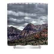 Red Rock Canyon - Las Vegas Nevada Shower Curtain