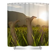 Relaxing Moment Shower Curtain