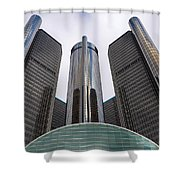 Renaissance Center Shower Curtain