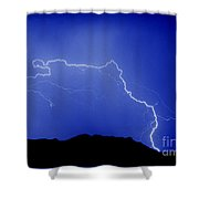 Rincon Lightning Shower Curtain