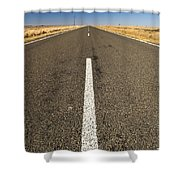 Road Ahead Shower Curtain