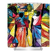 Road To The Market Shower Curtain
