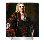 Robert Walpole (1676-1745) Shower Curtain