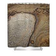 Art Rock Shower Curtain