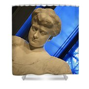 Rodin's Katherine Seney Simpson Shower Curtain