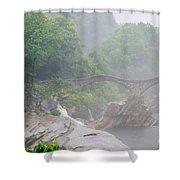 Roman Bridge Shower Curtain