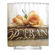 Paris Romantic Shower Curtain