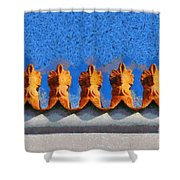 Roof Decoration Shower Curtain