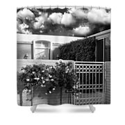 Roses Of Marrakesh Palm Springs Shower Curtain