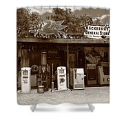 Route 66 - Hackberry General Store Shower Curtain