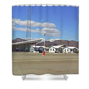 Route 66 - Roy's Of Amboy California Shower Curtain