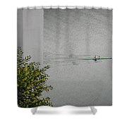 Rower On Douro Shower Curtain